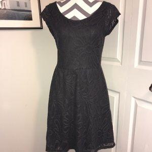 Anthropologie Deletta Fluttering Flora Lace Dress